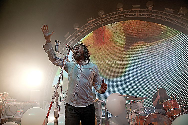 The Flaming Lips live in concert at the Palladium Ballroom on February 3, 2011 in Dallas, TX.