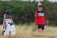 Charley Hull (ENG) on the 2nd during Round 2 of the Ricoh Women's British Open at Royal Lytham &amp; St. Annes on Friday 3rd August 2018.<br /> Picture:  Thos Caffrey / Golffile<br /> <br /> All photo usage must carry mandatory copyright credit (&copy; Golffile | Thos Caffrey)