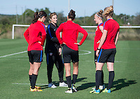 USWNT Training, April 3, 2016
