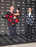 "Alec Baldwin his wife Hilaria Thomas and Santiago Segura attends the ""ICON Magazine AWARDS"" Photocall at Italian Consulate in Madrid, Spain. October 1, 2014. (ALTERPHOTOS/Carlos Dafonte)"