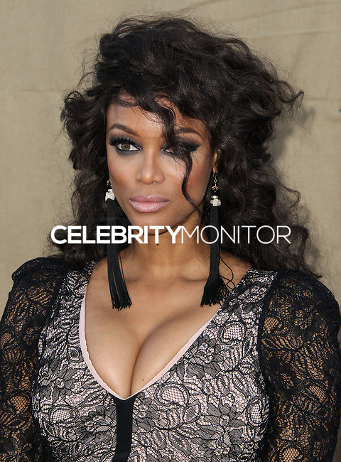 BEVERLY HILLS, CA - JULY 29: Tyra Banks attends the CBS, Showtime, CW 2013 TCA Summer Stars Party at 9900 Wilshire Blvd on July 29, 2013 in Beverly Hills, California. (Photo by Celebrity Monitor)