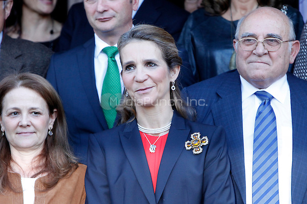Pricess Elena of Spain attends the 'VII Universidad Empresa' awards in Madrid. November 22, 2012. (ALTERPHOTOS/Caro Marin) /NortePhoto /MediaPunch Inc. ***FOR USA ONLY***
