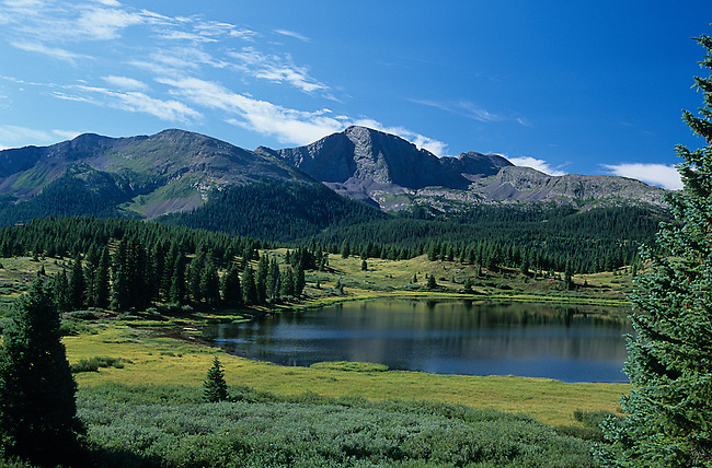 Little Molas Lake, Snowdon Peak, Colorado