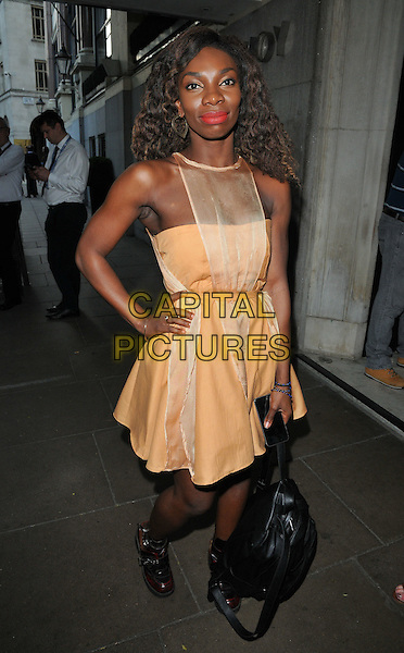 Michaela Coel at the South Bank Sky Arts Awards 2016, The Savoy Hotel, The Strand, London, England, UK, on Sunday 05 June 2016.<br /> CAP/CAN<br /> &copy;CAN/Capital Pictures