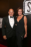 Tom D'Agostino Jr. and Luann de Lesseps attend the Broadway Opening Night of Sunset Boulevard' at the Palace Theatre Theatre on February 9, 2017 in New York City.