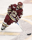 Matt Greene - The Boston University Terriers defeated the Boston College Eagles 2-1 in overtime in the March 18, 2006 Hockey East Final at the TD Banknorth Garden in Boston, MA.