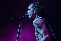 SAO PAULO, SP  - 14.02.2019  - SHOW-SP - Apresenta&ccedil;&atilde;o da banda Bush no Credicard Hall na noite desta quinta-feira (14) na zona sul de S&atilde;o Paulo.<br /> <br /> (Foto: Fabricio Bomjardim / Brazil Photo Press)