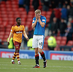 Dejection from Ross McCrorie at full time