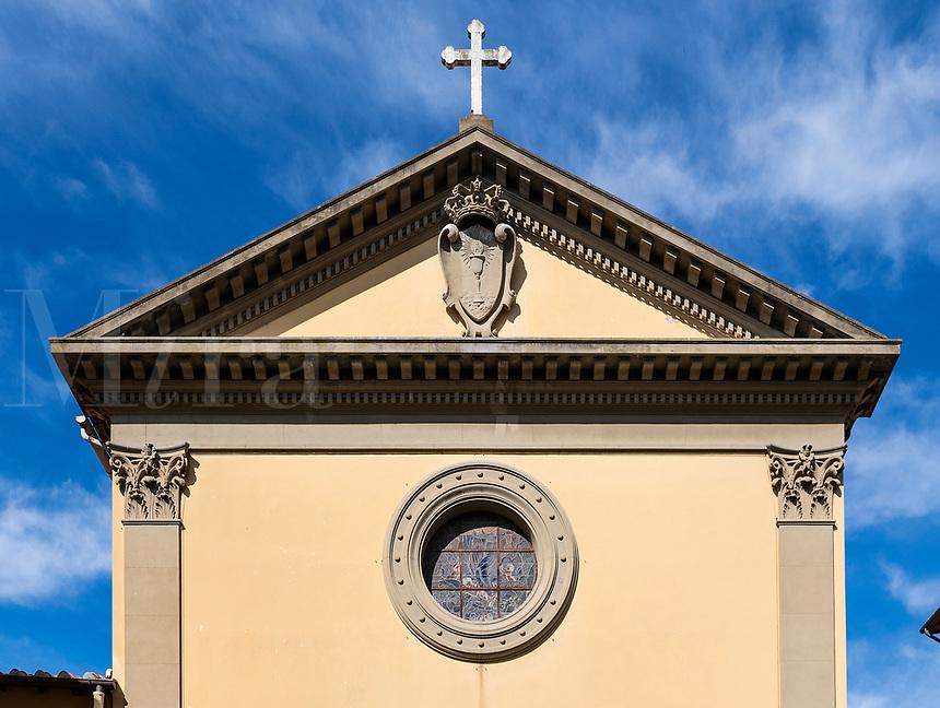 The Church of Santissimo Sacramento, circa 1551, Portoferraio, Italy.