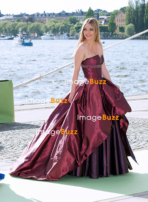 ANTONIA<br /> arrives for a boat ride to Drottingholm Palace for the Wedding Banquet Riddarholmen, Stockholm, Sweden_08/06/2013<br /> Princess Madeleine married Christopher O'Neill at the Royal Chapel, Royal Palace in Stockholm