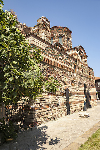 Christ Pantocrator Church, Nessebar, Bulgaria  June 2015.<br /> CAP/MEL<br /> &copy;MEL/Capital Pictures /MediaPunch ***NORTH AND SOUTH AMERICA ONLY***