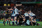 June 3rd 2017, FMG Stadium, Waikato, Hamilton, New Zealand; Super Rugby; Chiefs versus Waratahs;  Players scuffle during the Super Rugby rugby match