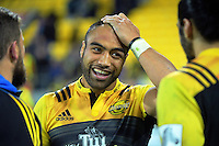 Victor Vito after the Super Rugby semifinal match between the Hurricanes and Chiefs at Westpac Stadium, Wellington, New Zealand on Saturday, 30 July 2016. Photo: Dave Lintott / lintottphoto.co.nz