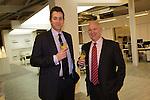 Paramount Office Opening..L-R: Matt Phillips & Phil Jardine.18.12.12.©Steve Pope