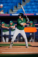 Daytona Tortugas first baseman Bruce Yari (44) at bat during a game against the St. Lucie Mets on August 3, 2018 at First Data Field in Port St. Lucie, Florida.  Daytona defeated St. Lucie 3-2.  (Mike Janes/Four Seam Images)