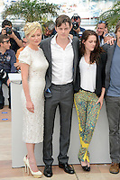 "Kirsten Dunst, Sam Riley and Kristen Stewart attending the ""On the Road"" Photocall during the 65th annual International Cannes Film Festival in Cannes, France, 23rd May 2012...Credit: Timm/face to face /MediaPunch Inc. ***FOR USA ONLY***"