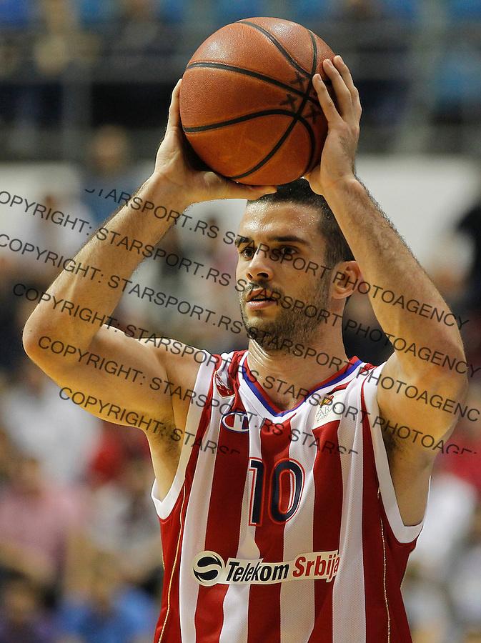 Kosarka ABA League season 2013-2014<br /> Crvena Zvezda v Radnicki (Kragujevac)<br /> Branko Lazic<br /> Beograd, 12.10.2013.<br /> foto: Srdjan Stevanovic/Starsportphoto &copy;