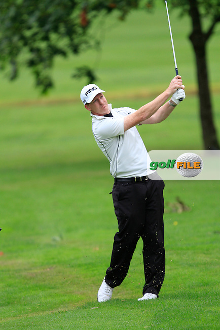 Gerard Lawlor (Craddockstown) on the 8th during round 1 of The Mullingar Scratch Cup in Mullingar Golf Club on Sunday 3rd August 2014.<br /> Picture:  Thos Caffrey / www.golffile.ie