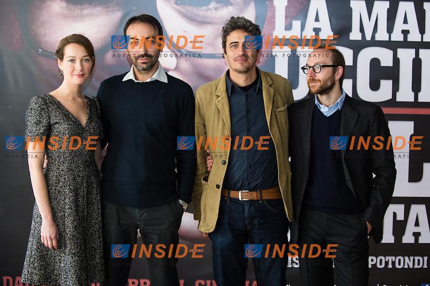 Cristiana Capotondi, PIF<br /> Roma 19-11-2013 Cinema Adriano <br /> La Mafia Uccide solo d'estate - photocall <br /> Foto Andrea Staccioli / Insidefoto