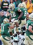 Baylor Bears running back Lache Seastrunk (25) in action during the game between the Kansas Jayhawks and the Baylor Bears at the Floyd Casey Stadium in Waco, Texas. Baylor leads Kansas 20 to 14 at halftime....
