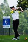 Hao Chen of China tees off during the 2011 Faldo Series Asia Grand Final on the Faldo Course at Mission Hills Golf Club in Shenzhen, China. Photo by Victor Fraile / Faldo Series