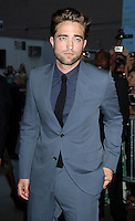 NEW YORK, NY - August 13, 2012: Robert Pattinson at the New York premiere of Cosmopolis at The MoMA in New York City. &copy; RW/MediaPunch Inc. /NortePhoto.com*<br />