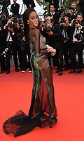 "CANNES, FRANCE. May 22, 2019: Winnie Harlow  at the gala premiere for ""Oh Mercy!"" at the Festival de Cannes.<br /> Picture: Paul Smith / Featureflash"