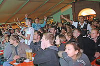Public Viewing auf dem Marktplatz am Ratskeller, erneut eine vergebene Chance für Deutschland