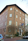 """""""TheSHUL of the Nation's Capital"""" at 2110 Leroy Pl. NW; Washington, DC 20008 on Thursday, December 15, 2016.  It is housed in the Washington Headquarters of the American Friends of Lubavitch (Chabad).  Its founder and spiritual leader, Rabbi Levi Shemtov is the group's Executive Vice President who also administers the National Menorah Council.  This year the National Menorah will be lit on the Ellipse on Sunday, December 25, 2016.<br /> Credit: Ron Sachs / CNP<br /> (RESTRICTION: NO New York or New Jersey Newspapers or newspapers within a 75 mile radius of New York City)"""