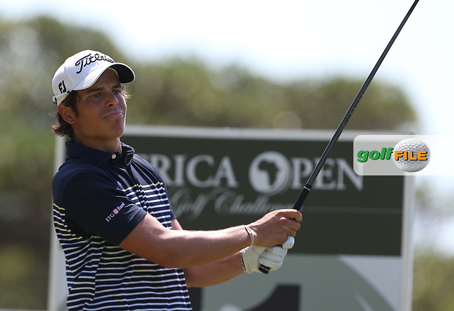 Adrien Saddier (FRA) carded a 76 and dropped out of contention during Round Three of The Africa Open 2014 at the East London Golf Club, Eastern Cape, South Africa. Picture:  David Lloyd / www.golffile.ie