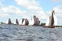 ZEILSPORT: GROU: 05-08-2017, SKS Skûtsjesilen, ©foto Martin de Jong