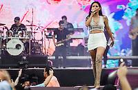 RIO DE JANEIRO, RJ, 13.11.2016 - FESTIVAL-RJ - A cantora Simaria durante a Maratona Villa Mix Festival no Parque dos Atletas, na zona oeste da cidade do Rio de Janeiro, nesse domingo, 13.  (Foto: Jayson Braga / Brazil Photo Press)