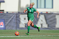 8 November 2015:  Marshall Midfielder/Forward Kelly Culicerto (6) advances the ball in the first half as the University of North Texas Mean Green defeated the Marshall University Thundering Herd, 1-0, in the Conference USA championship game at University Park Stadium in Miami, Florida.