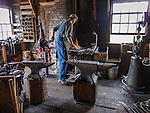 Blacksmith, Heritage Park Historical Village, Calgary