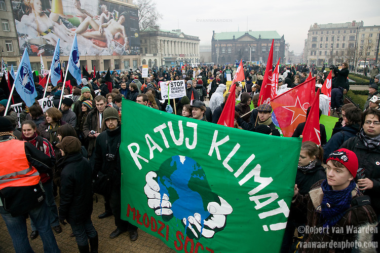 international Day of Action, Poznan, Poland. UNFCCC COP 14 (©Robert vanWaarden ALL RIGHTS RESERVED)