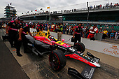 Verizon IndyCar Series<br /> Indianapolis 500 Qualifying<br /> Indianapolis Motor Speedway, Indianapolis, IN USA<br /> Saturday 20 May 2017<br /> Jack Harvey, Michael Shank Racing with Andretti Autosport Honda<br /> World Copyright: Phillip Abbott<br /> LAT Images<br /> ref: Digital Image abbott_IndyQ-0517_19580