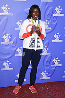 Christine Ohurugu<br /> celebrating the winners in this year's National Lottery Awards, the search for the UK's favourite Lottery-funded projects.  The glittering National Lottery Stars show, hosted by John Barrowman, is on BBC One at 10.45pm on Monday 12 September.<br /> <br /> <br /> ©Ash Knotek  D3151  09/09/2016
