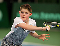 March 13, 2015, Netherlands, Rotterdam, TC Victoria, NOJK,  Jens Hoogendam (NED)<br /> Photo: Tennisimages/Henk Koster