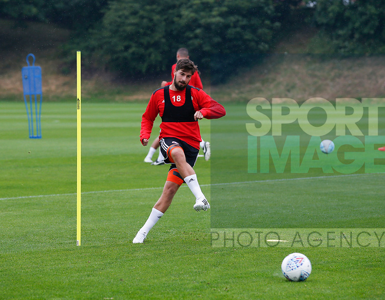 Keiron Freeman during the training session at the Shirecliffe Training complex, Sheffield. Picture date: June 27th 2017. Pic credit should read: Simon Bellis/Sportimage