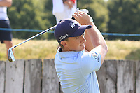 Paul Dunne (IRL) on the 15th during Round 3 of the HNA Open De France at Le Golf National in Saint-Quentin-En-Yvelines, Paris, France on Saturday 30th June 2018.<br /> Picture:  Thos Caffrey | Golffile