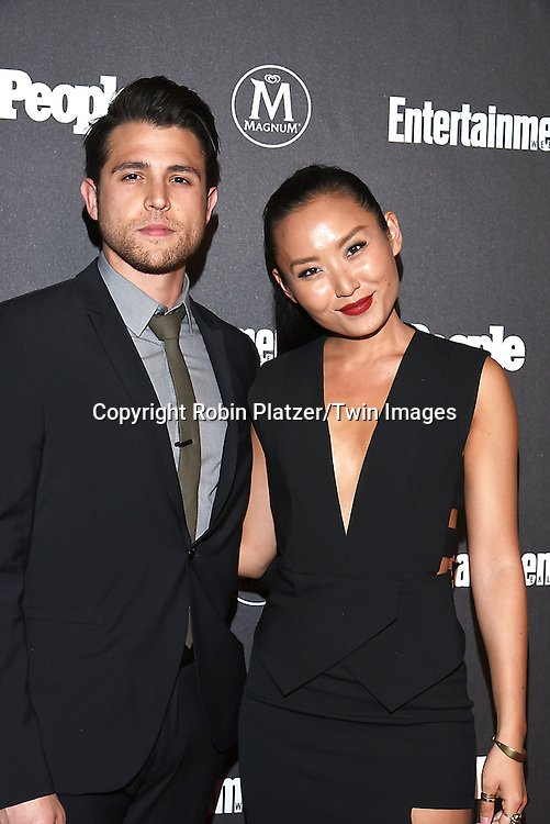 Lenny Platt and Li Jun Li attend the Entertainment Weekly &amp; PEOPLE Magazine New York Upfronts Celebration on May 16, 2016 at Cedar Lake in New York, New York, USA.<br /> <br /> photo by Robin Platzer/Twin Images<br />  <br /> phone number 212-935-0770