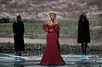 Mary J. Blige, Oscar&reg; nominee for actress in a supporting role and for music (original song), performs at The 90th Oscars&reg; at the Dolby&reg; Theatre in Hollywood, CA on Sunday, March 4, 2018.<br /> *Editorial Use Only*<br /> CAP/PLF/AMPAS<br /> Supplied by Capital Pictures