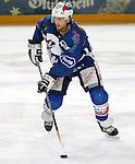 Eishockey Deutscher Eishockey-Pokal Arena Nuernberg (Germany) Halbfinale Nuernberg IceTigers - Adler Mannheim (1:5) Anders Myrvold (Mannheim) am Puck
