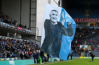 Giant flags are waved prior to kick off<br /> <br /> Photographer Alex Dodd/CameraSport<br /> <br /> The EFL Sky Bet Championship - Blackburn Rovers v Preston North End - Saturday 11th January 2020 - Ewood Park - Blackburn<br /> <br /> World Copyright © 2020 CameraSport. All rights reserved. 43 Linden Ave. Countesthorpe. Leicester. England. LE8 5PG - Tel: +44 (0) 116 277 4147 - admin@camerasport.com - www.camerasport.com