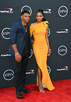 Russell Wilson &amp; Ciara at the 2018 ESPY Awards at the Microsoft Theatre LA Live, Los Angeles, USA 18 July 2018<br /> Picture: Paul Smith/Featureflash/SilverHub 0208 004 5359 sales@silverhubmedia.com