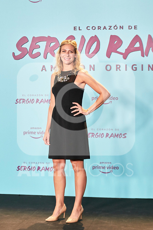 Georgia Brown in the world preview of EL CORAZÓN DE SERGIO RAMOS, documentary series about the life of the captain of Real Madrid and the Spanish Soccer Team, at the Reina Sofía Museum on September 10, 2019 in Madrid, Spain.<br />  (ALTERPHOTOS/Yurena Paniagua)
