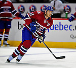 4 December 2008: Montreal Canadiens' center and Team Captain Saku Koivu from Finland warms up prior to facing the New York Rangers for their first meeting of the season at the Bell Centre in Montreal, Quebec, Canada. The Canadiens, celebrating their 100th season, played in the circa 1915-1916 uniforms for the evenings' Original Six matchup. *****Editorial Use Only*****..Mandatory Photo Credit: Ed Wolfstein Photo