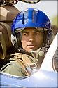 -2008- Salon-de-Provence- Commandant Fabien Coulibaly, leader de la Patrouille de France juste avant le vol.