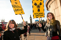 Ditching Dieting Protest 2012