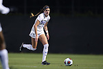 DURHAM, NC - NOVEMBER 11: Duke's Chelsea Burns. The Duke University Blue Devils hosted the UNCG Spartans on November 11, 2017 at Koskinen Stadium in Durham, NC in an NCAA Division I Women's Soccer Tournament First Round game. Duke won the game 1-0.